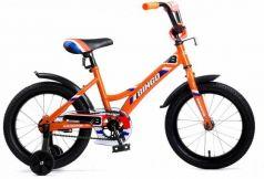 """Велосипед четырёхколёсный Navigator BINGO 16"""" оранжевый"""