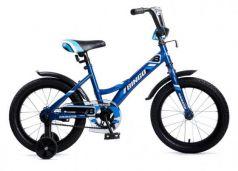 """Велосипед четырёхколёсный Navigator BINGO 16"""" синий"""
