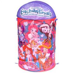 Корзина для игрушек Enchantimals 43*60см Играем вместе в пак. в кор.24шт