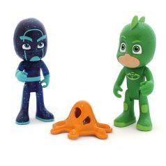 """Игровой набор """"Гекко и Ниндзя"""", 2 фигурки, 8 см, Герои в масках"""