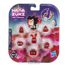Фигурки-сокровища Hasbro Hanazuki,  6 штук (красные)