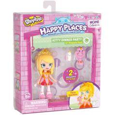 """Мини-кукла Moose Shopkins """"Счастливые места"""" Тиара Блестяшка и фигурки Петкинс, 13 см"""