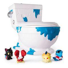 Туалет-коллектор Spin Master, 4 фигурки