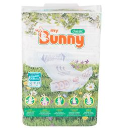 Подгузники My Bunny Classic Junior (11-25 кг) 56 шт.