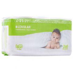 Подгузники Lovular Детские (9-13 кг) 20 шт.