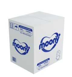 Трусики Moony Megabox (4-10 кг) 62+58 шт.