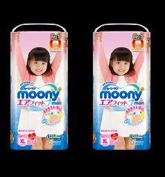 Трусики Moony Megabox (12-17 кг) 76 шт.