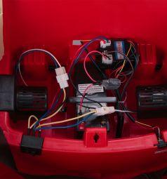 Электромобиль Weikesi CH9927, цвет: красный