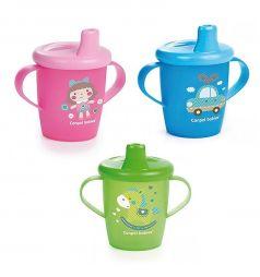 Поильник-непроливайка Canpol Toys для детей, с 12 месяцев, цвет: голубой