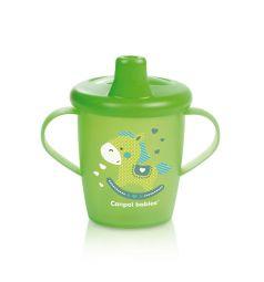 Поильник-непроливайка Canpol Toys для детей, с 12 месяцев, цвет: зеленый
