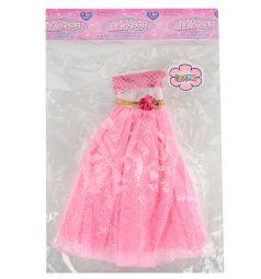 Одежда для кукол Игруша Платье розовое