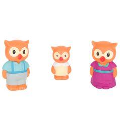 Игровой набор Игруша Семья животных Совы 9.3 см