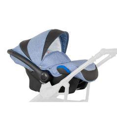 Автокресло Camarelo Baleo, цвет: синий меланж/черный