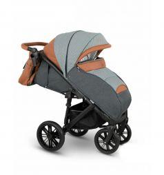 Прогулочная коляска Camarelo Cone, цвет: серый/коричневый