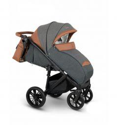 Прогулочная коляска Camarelo Cone, цвет: серый жакард/коричневый