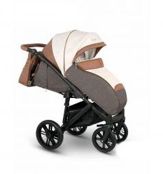 Прогулочная коляска Camarelo Cone, цвет: светло-бежевый/коричневый