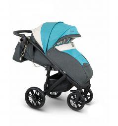 Прогулочная коляска Camarelo Cone, цвет: голубой/серый