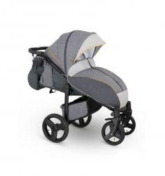 Прогулочная коляска Camarelo Elf, цвет: серый джинс/серый