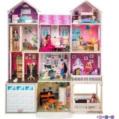 Кукольный домик Paremo Поместье Агостина 136 см