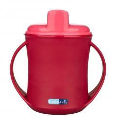 Чашка-поильник Bebe Due 2 в 1, с 18 месяцев, цвет: розовый