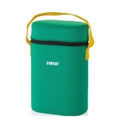 Термосумка Farlin на 2 бутылочки для бутылочек, цвет: зеленый