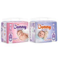 Подгузники My Bunny с канальцами Mini (3-6 кг) 27 шт.