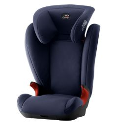 Автокресло Britax Romer Kid II Black Series, цвет: moonlight blue trendline