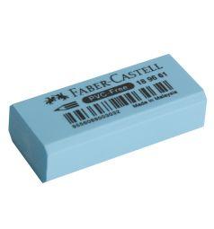 Ластик Faber-Castell флоуресцентный (30 шт.) голубой