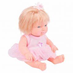 Кукла Игруша В розовом платье 20 см