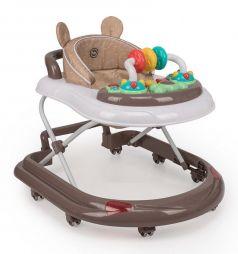 Ходунки Happy Baby Smiley V2, цвет: brown