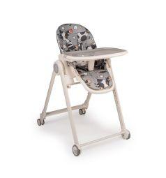 Стульчик для кормления Happy Baby Berny Basic, цвет: grey