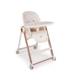 Стульчик для кормления Happy Baby Berny V2, цвет: milk