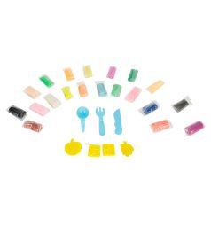 Тесто для лепки Color Puppy формочки+инструменты (20 цв.) (290 г) голубой