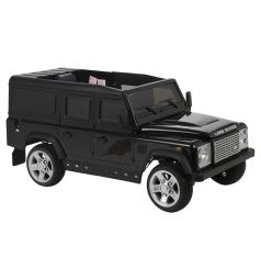 Электромобиль Weikesi Land Rover Defender, цвет: черный