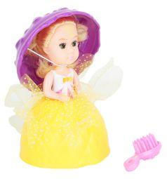 Кукла Игруша в стакане мороженого цвет: желтый