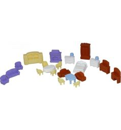 Набор мебели для кукол Полесье №5 21 предмет