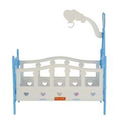 Кроватка для кукол Полесье №3, 6 элементов 31 см