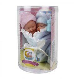 Пупсы-близнецы 1Toy в одеялке с бутылочкой