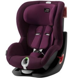 Автокресло Britax Romer King II LS Black Series, цвет: burgundy red