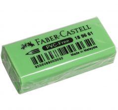 Ластик флоуресцентный Faber-Castell 30 шт. салатовый