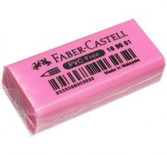 Ластик Faber-Castell флоуресцентный (30 шт.) розовый
