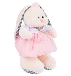 Мягкая игрушка Игруша Кролик в платье 30 см