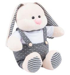 Мягкая игрушка Игруша Кролик в одежде 25 см