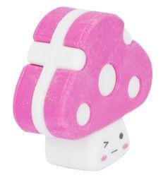 Ластик Action Грибочки розовый