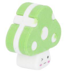 Ластик Action Грибочки зеленый