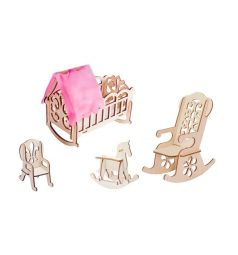 Набор мебели для кукол Большой Слон Мечта Детская