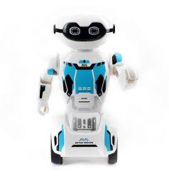 Робот на радиоуправлении Silverlit Макробот, цвет: голубой 21 см
