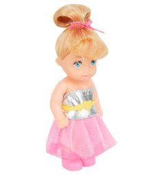 Кукла Игруша Princess (розовая юбка/серый топ)
