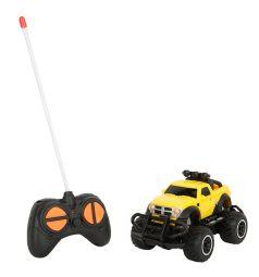 Машинка на радиоуправлении Игруша цвет: желтый