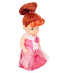 Кукла Игруша Princess Рыжая в розовом платье